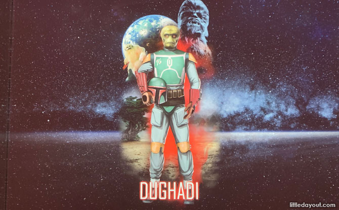 Make your own Star Wars Character