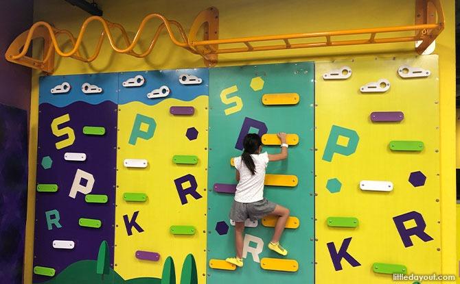 Superpark wall