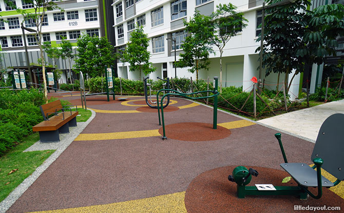 Tampines Greenview Playground Fitness Corner
