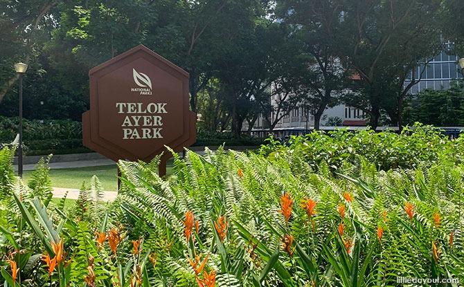 What's at Telok Ayer Park