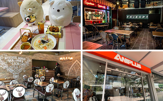 Themed Cafes In Singapore: Out-Of-The-Ordinary & Fun Dining Places
