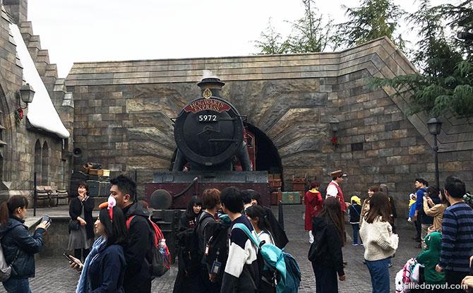 Hogwarts Express photo spot