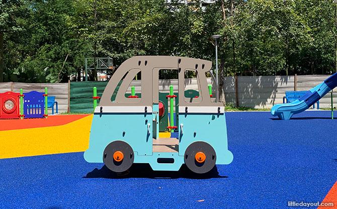 Children's playground at Yishun Nature Park