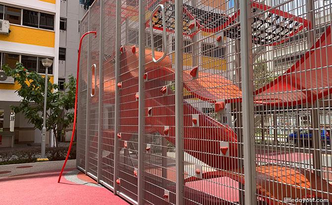 Block 832 Yishun Street 81 Wallhola Vertical Playground