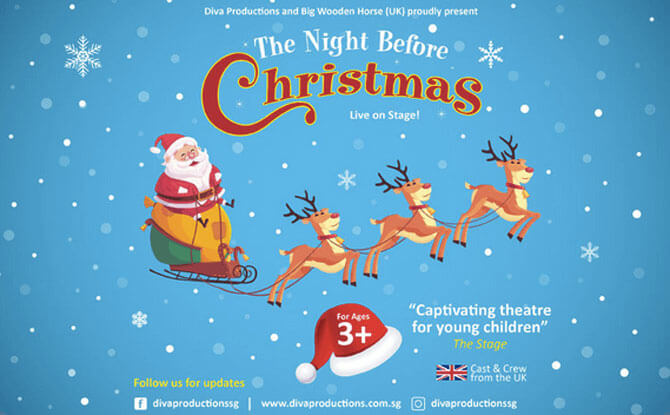 The Night Before Christmas in Singapore at SOTA