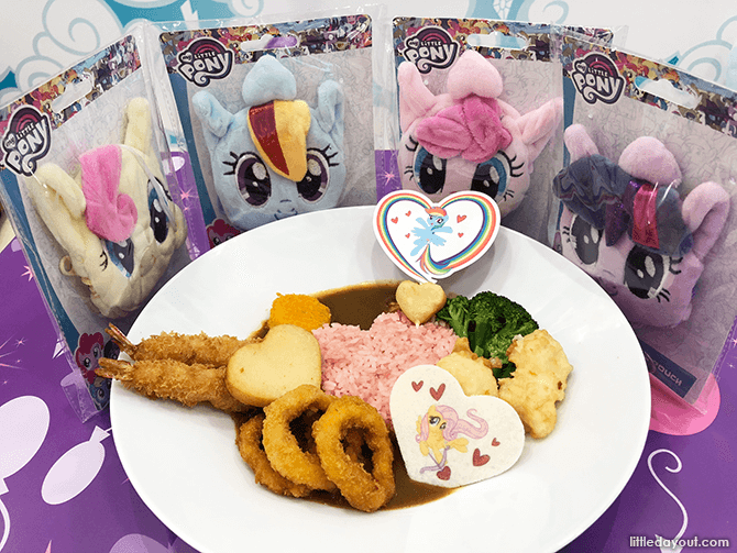 Food at My Little Pony Cafe