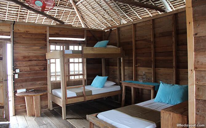 Blue Mountain Kelong Quad Room