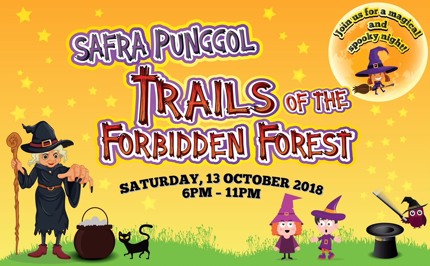 Sign up for Trails of the Forbidden Forest
