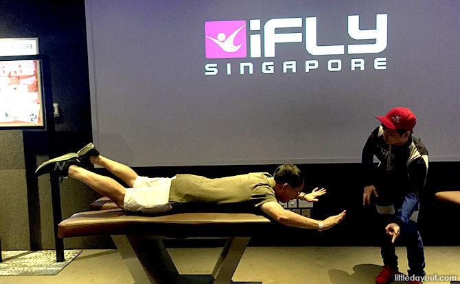 BodyFlight Training at iFly Singapore