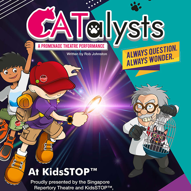 CATalysts runs from 24 September to 10 October 2019