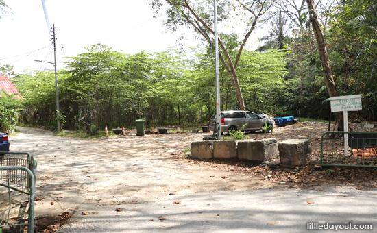 Entrance To Kampong