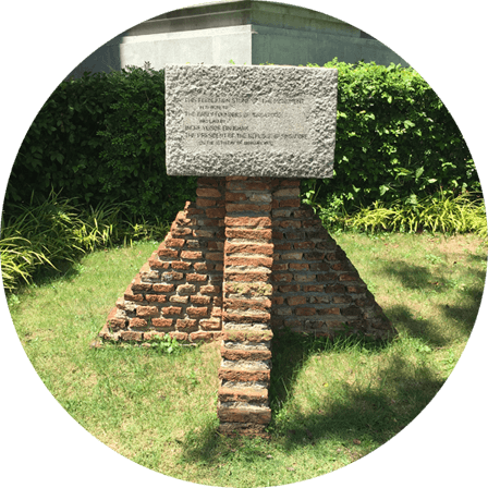 Founders Memorial Foundation Stone