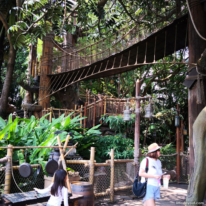 Disneyland Hong Kong, Rivers of Adventure