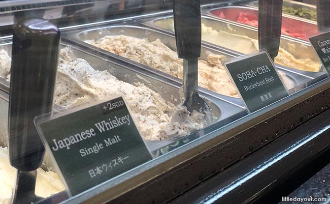 Japanese gelato