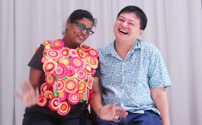 Jeffrey Tan with Kalaiselvi d/o Piramayan