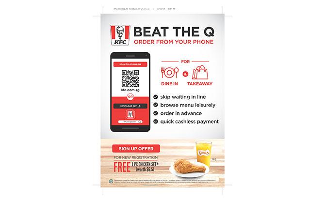 KFC Singapore App