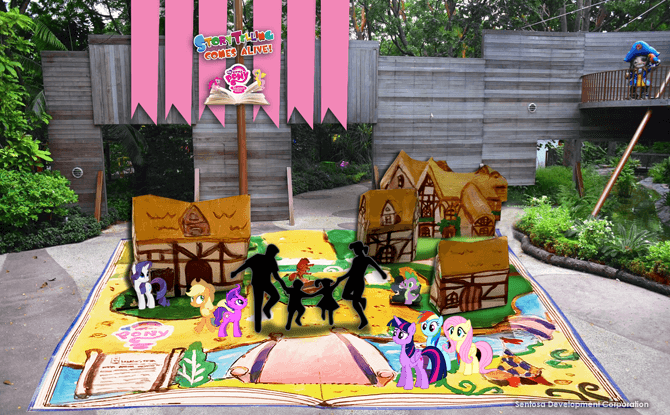 My Little Pony at Storytelling Comes Alive!
