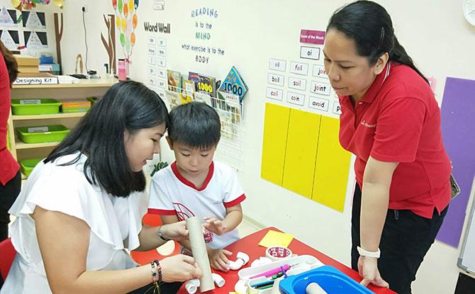Learning at MindChamps Zhongshan Park
