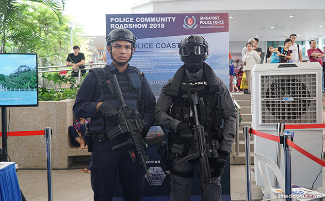 Police at the Community Roadshow 2018