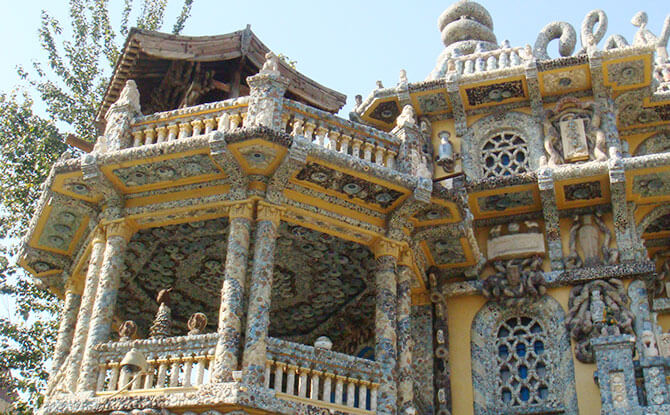 Porcelain House in Tianjin, China