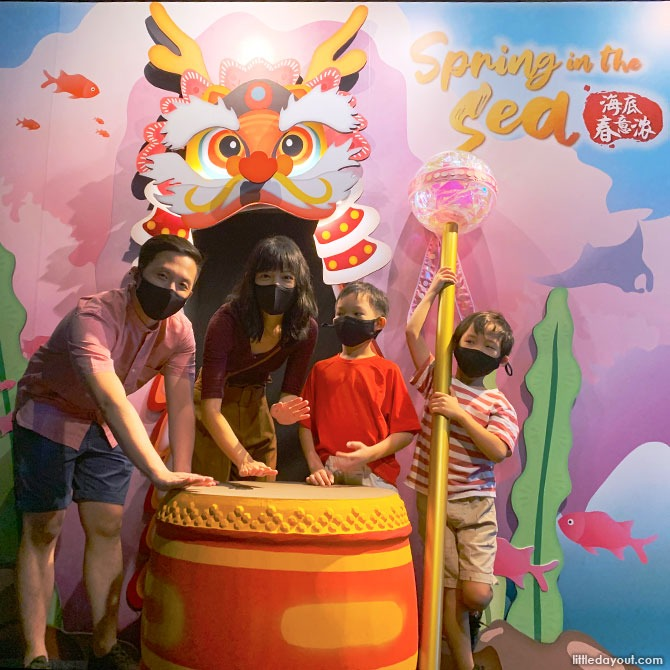 Experience Spring in the Sea at S.E.A. Aquarium