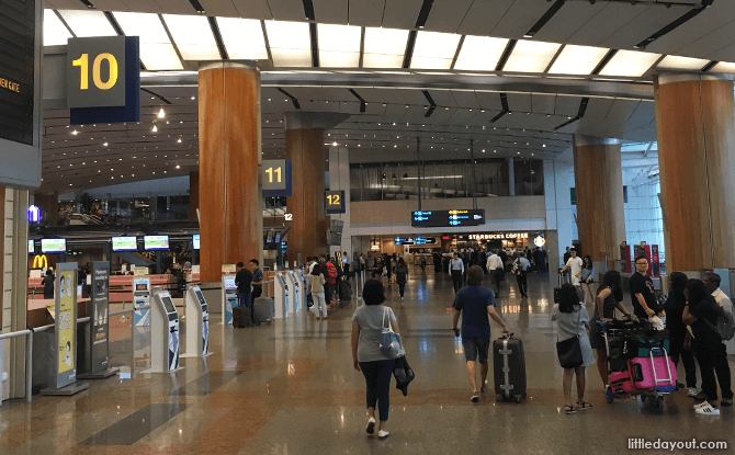 Way to Staff Canteen, T2 Singapore Changi Airport
