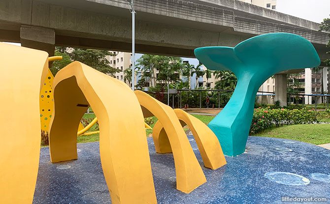 Sengkang Sculpture Park: A Whale In The Park