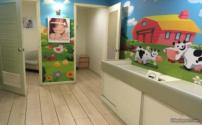 Tanglin Shopping Centre Nursing Room