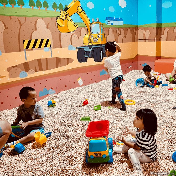 Poco's Hinoki Play at Tayo Playground Singapore