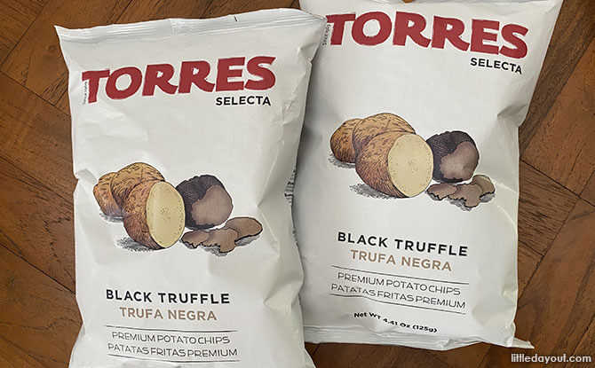 Torres Selecta: Truffle-flavoured Potato Chips in Singapore