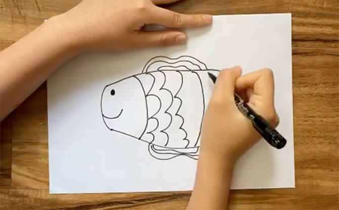 Artify art ideas - fish
