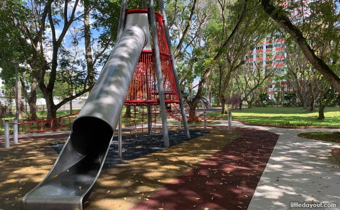 Climbing Net Structures at Bishan Street 13 - Wallhola Vertical Playground