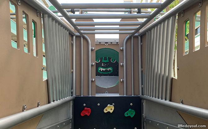 Inside the Bukit Batok Airplane Playground