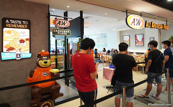 Canberra Plaza Food A&W