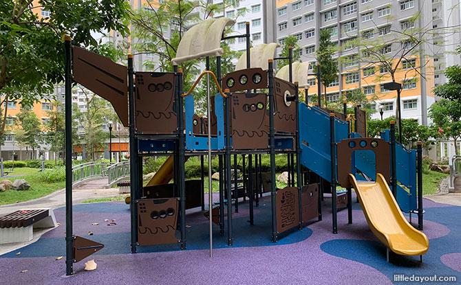 EastBrook @ Canberra Playground: Man-O-War