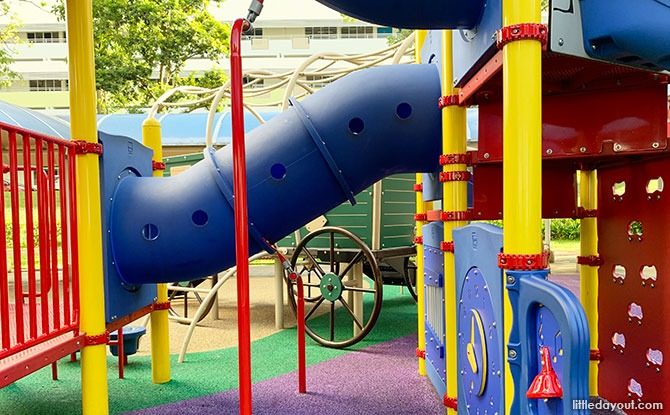 Ascending the Clementi Castle & Wagon Playground