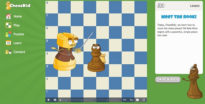 Online chess lessons for kids - ChessKid Review