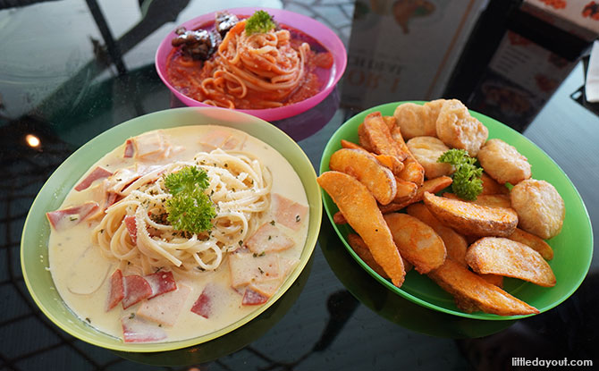 Kids Meals at Citrus Bistro, Sengkang Swimming Pool
