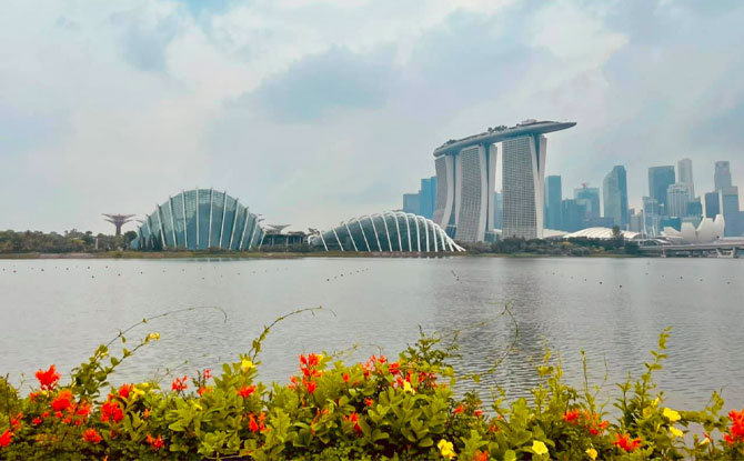 beautiful sights around Singapore