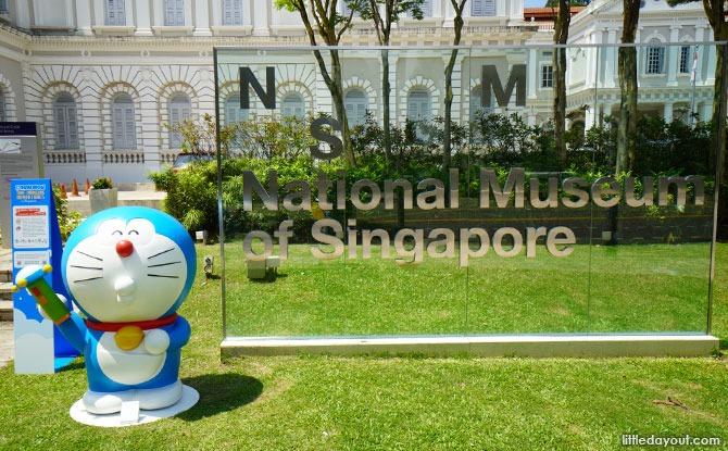 Take Doraemon Photos at the Museum