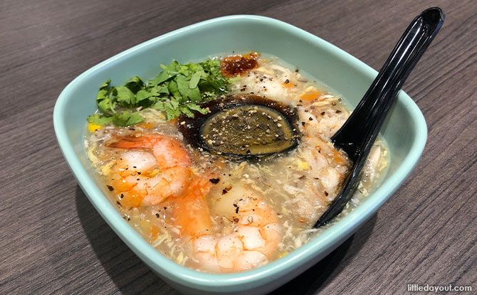 Crab and Prawn soup