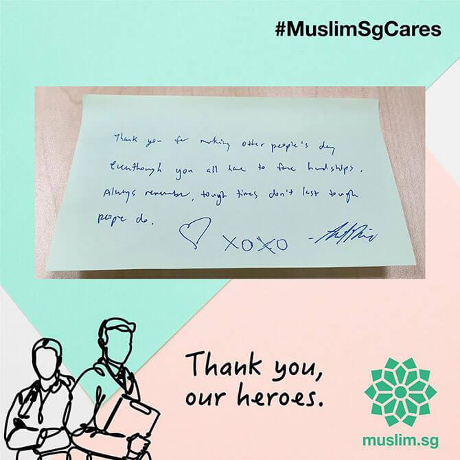 #MuslimSGCares