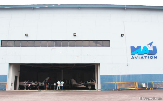 MAJ Aviation's Hangar
