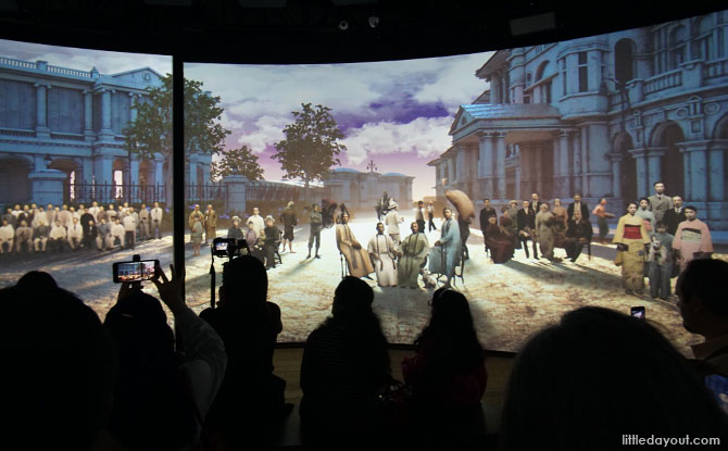 Go on a immersive journey through Singapore's history.