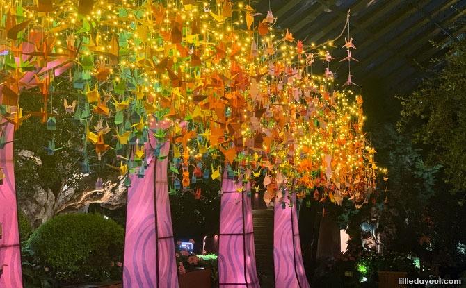 Origami Crane Trees