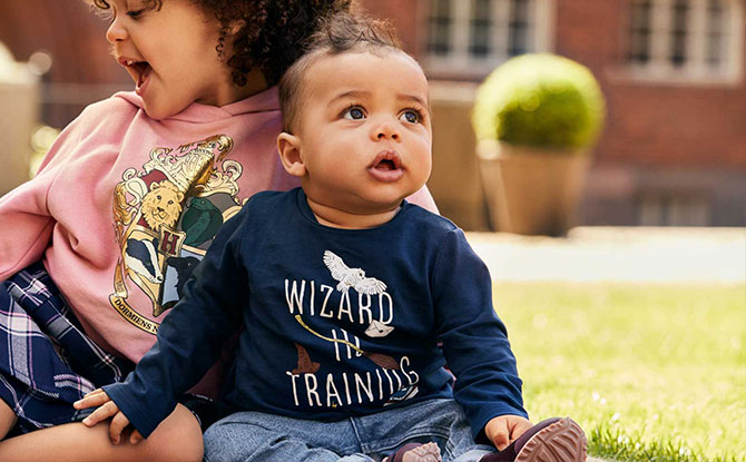 harry potter hnm collection kid
