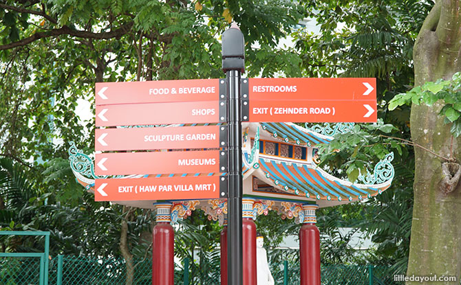 Sign of things to come at Haw Par Villa