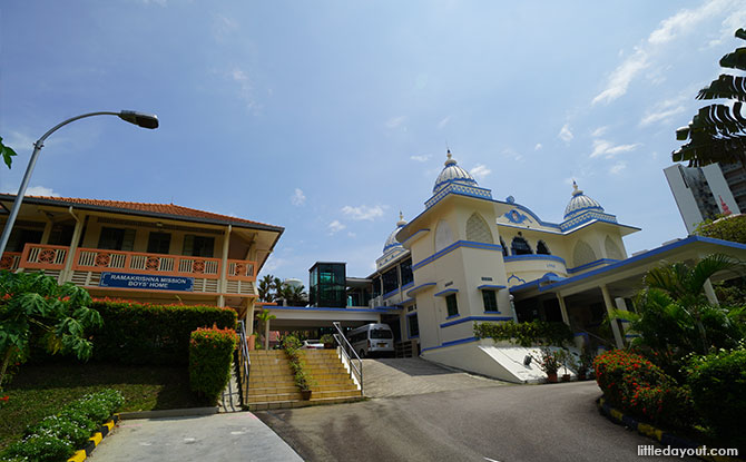 Ramakrishna Mission along Bartley Road