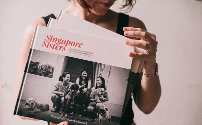 Buy a beautiful photography book in support of Foreign Domestic Workers