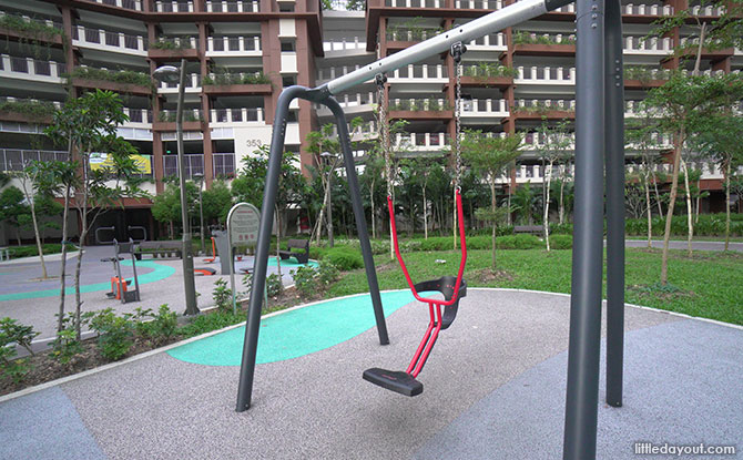 Anchorvale Plain Playground KOMPAN You & Me Swing